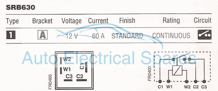 Enchanting split charge wiring diagram composition schematic lucas srb630 33441 33ra 12v 60a split charge relay asfbconference2016 Image collections